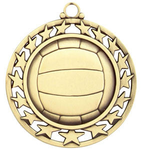 Super Star Medal Volleyball