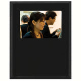 Matte Black Value Slide In Picture Plaque 7x9