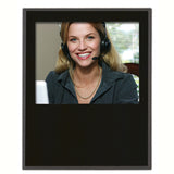 Matte Black Value Slide In Picture Plaque 11x15