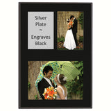 Matte Black Value Dual Slide In Picture Plaque