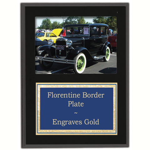 Matte Black Value Slide In Picture Plaque 8x10