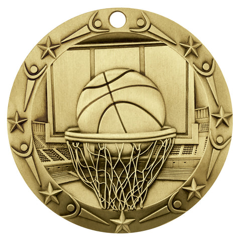 World Class Medallion Basketball