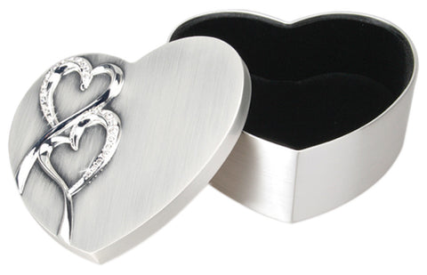 The Two Hearts Keepsake Box
