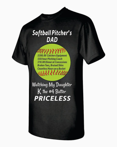 Pitcher's Dad T-shirt