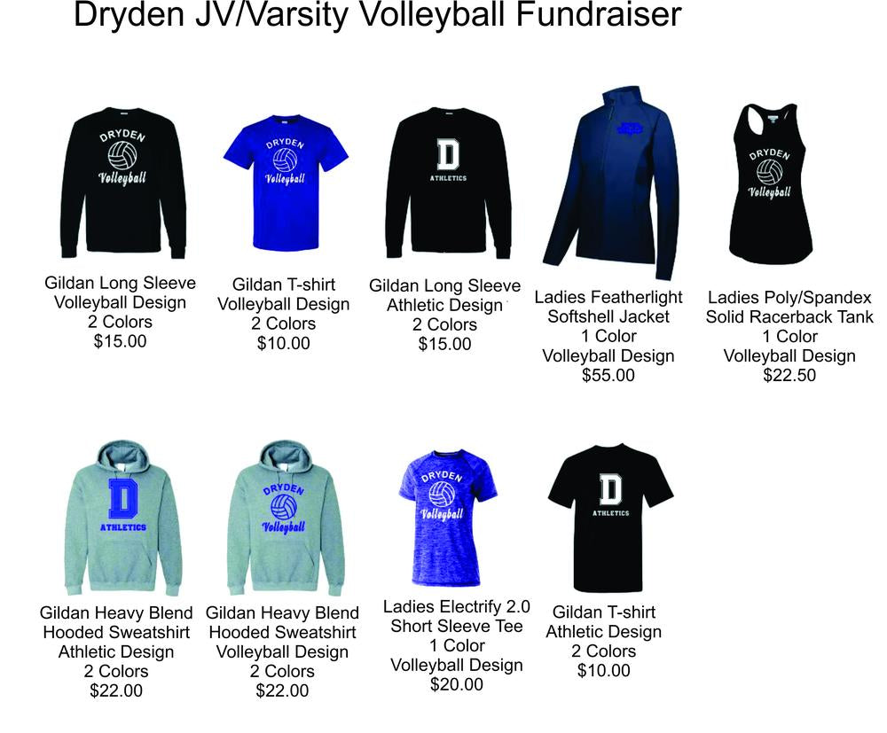 dryden modified volleyball fundraiser