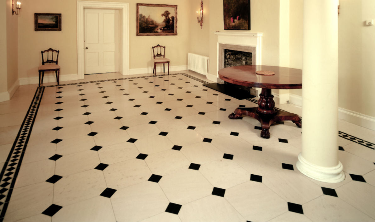 Living room flooring floor tile ideas stoneworth warehouse for Tiles in a living room