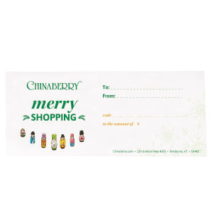 Chinaberry Winter Gift Card Long