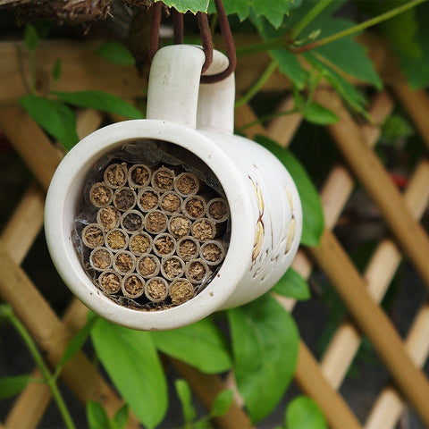 Ceramic Bee House