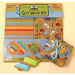 Backyard Babies Gift Wrap Kit - Chinaberry Books, Toys & Treasures