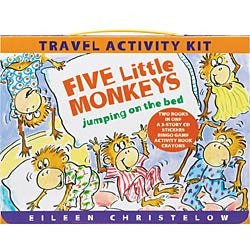 Five Little Monkeys Travel Kit - Chinaberry Books, Toys & Treasures