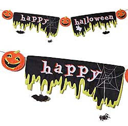 Happy Halloween Banner - Chinaberry Books, Toys & Treasures