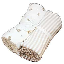 Organic Swaddle Blankets-Animals and Stripes - Chinaberry Books, Toys & Treasures