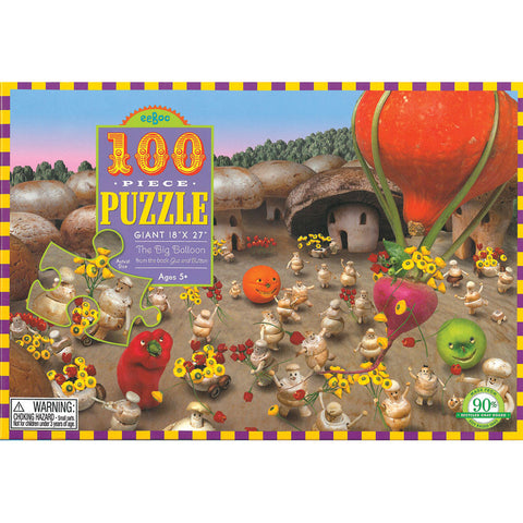 The Big Balloon Puzzle - Chinaberry Books, Toys & Treasures