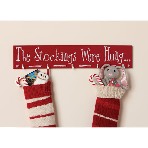 Holiday Stocking Holder - Chinaberry Books, Toys & Treasures