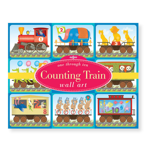 Counting Train Wall Art - Chinaberry