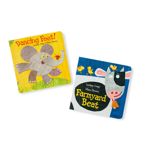 Farmyard Beat and Dancing Feet! Set of 2 - Chinaberry Books, Toys & Treasures - 1