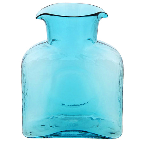 Blenko Glass Pitcher- Large Blue- Chinaberry