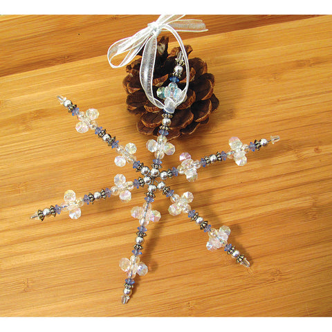 Beaded Snowflake Ornament Kit - Chinaberry Books, Toys & Treasures
