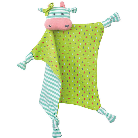 Organic Belle Cow Teething Blankie - Chinaberry Books, Toys & Treasures