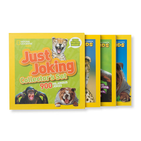 Just Joking Collector's Set - Chinaberry Books, Toys & Treasures - 1