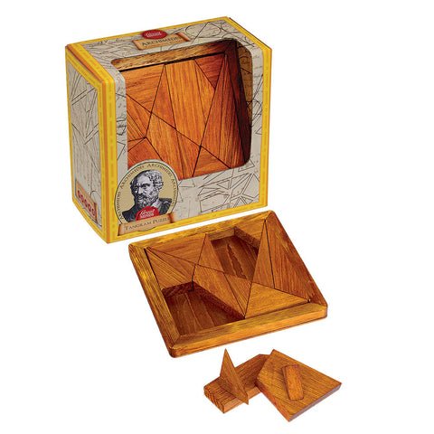 Archimedes' Tangram Puzzle - Chinaberry Books, Toys & Treasures