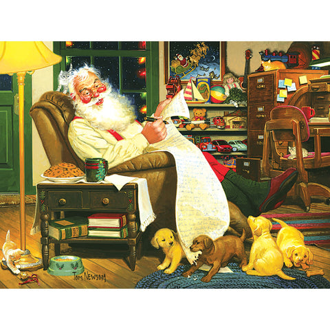 Santa's List Puzzle - Chinaberry Books, Toys & Treasures