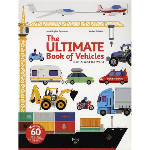 The Ultimate Book of Vehicles - Chinaberry Books, Toys & Treasures