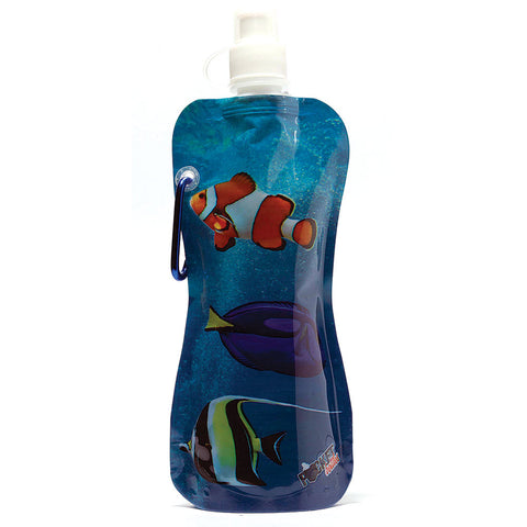 Pocket Bottle with Brush-Fish - Chinaberry Books, Toys & Treasures - 1