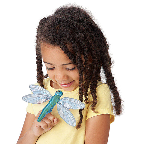 Dragonfly Finger Puppet - Chinaberry Books, Toys & Treasures