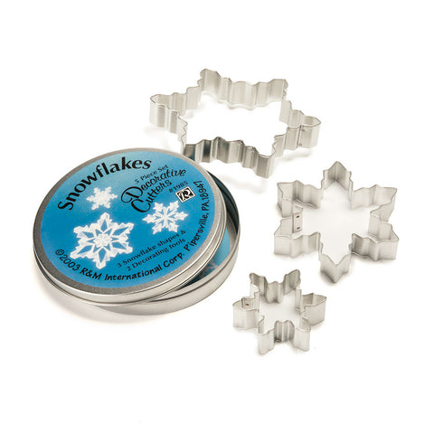 Snowflakes Decorative Cookie Cutters - Chinaberry Books, Toys & Treasures