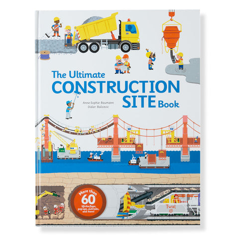 The Ultimate Construction Site Book - Chinaberry Books, Toys & Treasures - 1