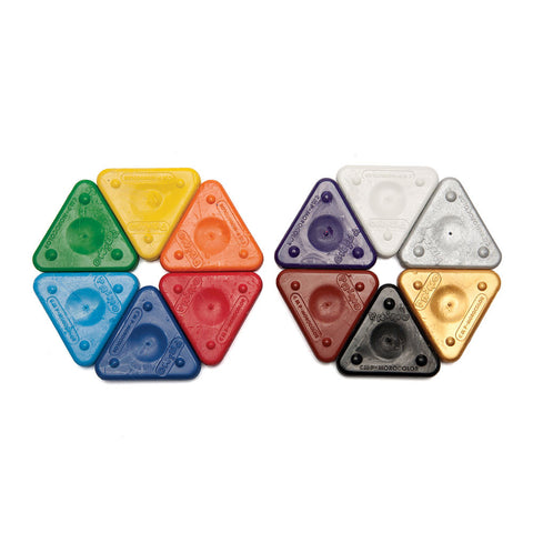 Triangle Crayons - Chinaberry Books, Toys & Treasures - 1