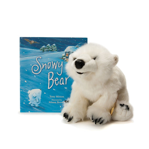 Snowy Bear Puppet & Book Set - Chinaberry Books, Toys & Treasures