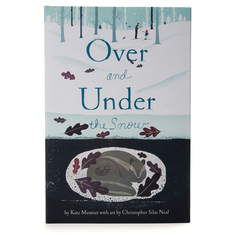 Over & Under the Snow Hardcover Book - Chinaberry Books, Toys & Treasures - 1