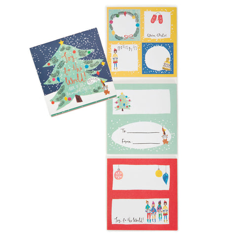 Joy to the World Gift Labels - Chinaberry Books, Toys & Treasures
