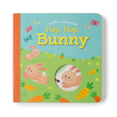 Hop, Hop Bunny Board Book- Chinaberry