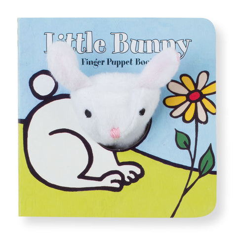 Little Bunny Finger Puppet Board Book - Chinaberry Books, Toys & Treasures - 1
