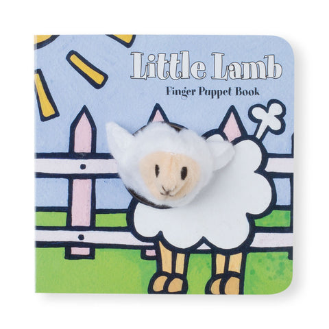 Little Lamb Finger Puppet Board Book - Chinaberry Books, Toys & Treasures - 1