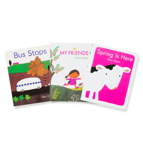 Taro Gomi Board Books Set of 3 - Chinaberry Books, Toys & Treasures - 1