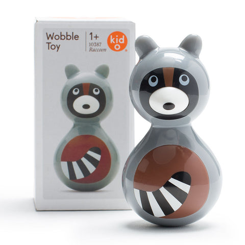 Wobble Toy - Raccoon - Chinaberry Books, Toys & Treasures
