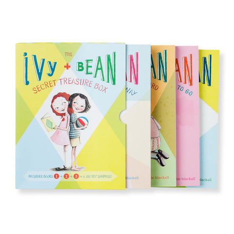 Ivy & Bean Boxed Set - Chinaberry Books, Toys & Treasures - 1