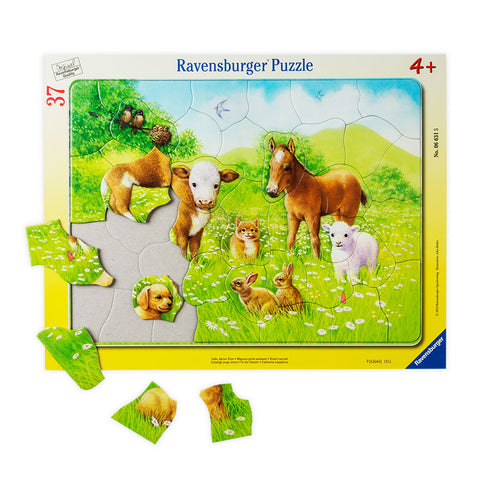 In the Pasture Frame Puzzle - Chinaberry Books, Toys & Treasures