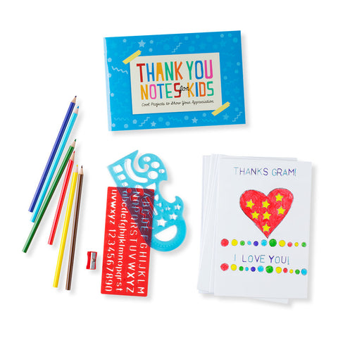 Thank You Note Kit for Kids - Chinaberry Books, Toys & Treasures - 1