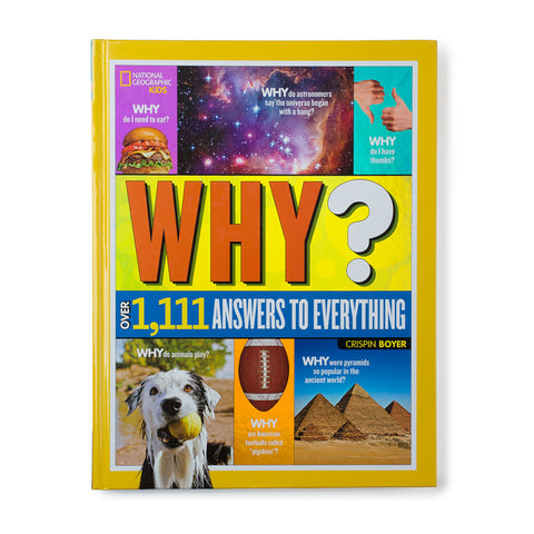 Why? Over 1,111 Answers to Everything - Chinaberry Books, Toys & Treasures - 1