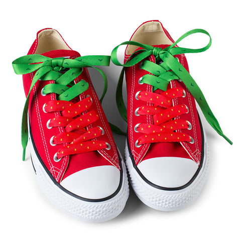 Crazy Shoelaces - Strawberry - Chinaberry Books, Toys & Treasures - 1