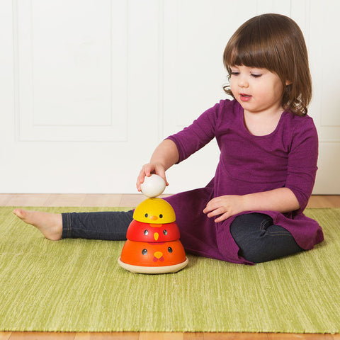 Chicken Nesting and Stacking Toy - Chinaberry Books, Toys & Treasures - 1