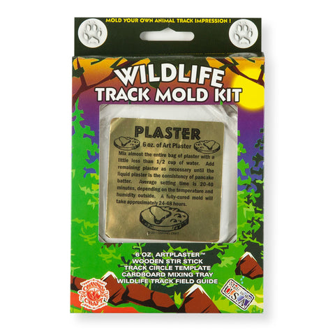 Wildlife Track Mold Kit - Chinaberry Books, Toys & Treasures