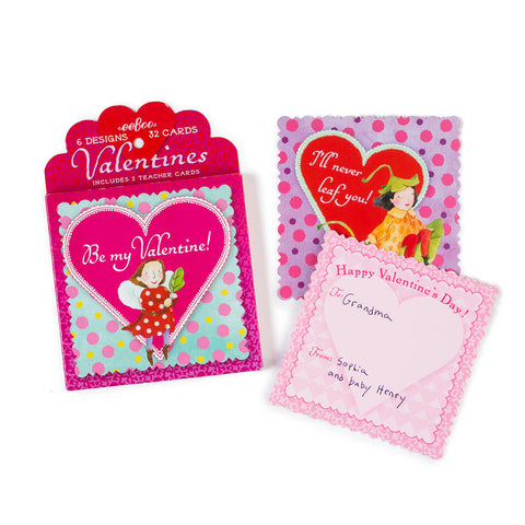 Fairy Valentines Cards - Chinaberry Books, Toys & Treasures