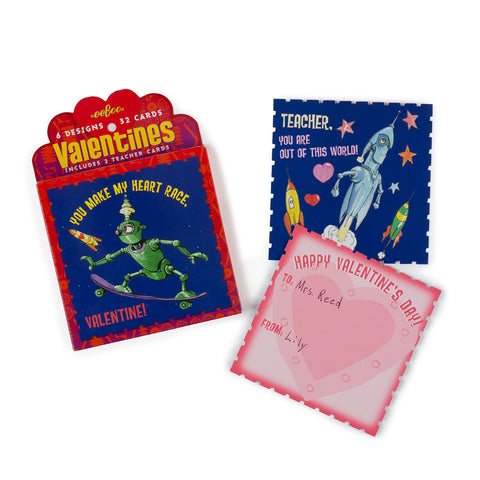 Space Friends Valentines Cards - Chinaberry Books, Toys & Treasures