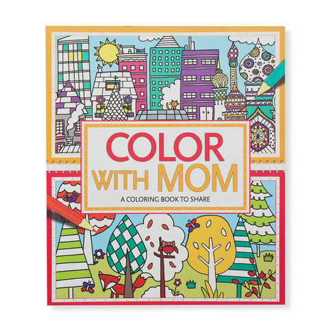 Color With Mom: A Coloring Book to Share - Chinaberry Books, Toys & Treasures - 1